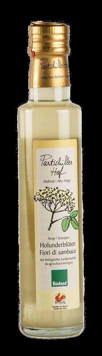Holunderblütensirup vom Partschillerhof 250 ml BIO