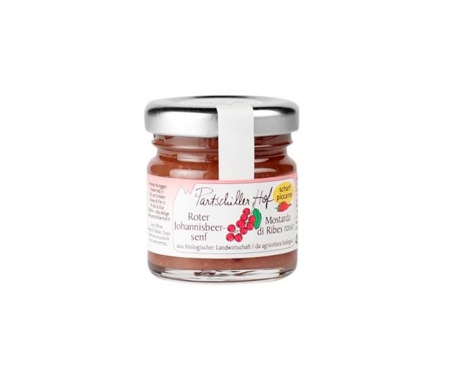 Früchtesenf Rote Johannisbeere Partschillerhof BIO 45 g