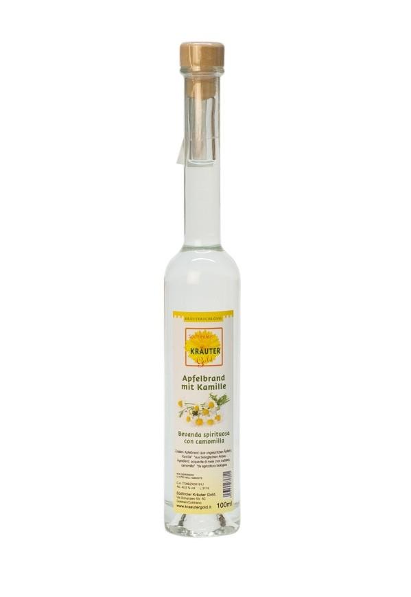 Apfelbrand mit Kamille BIO Kräuterschlössl 100 ml