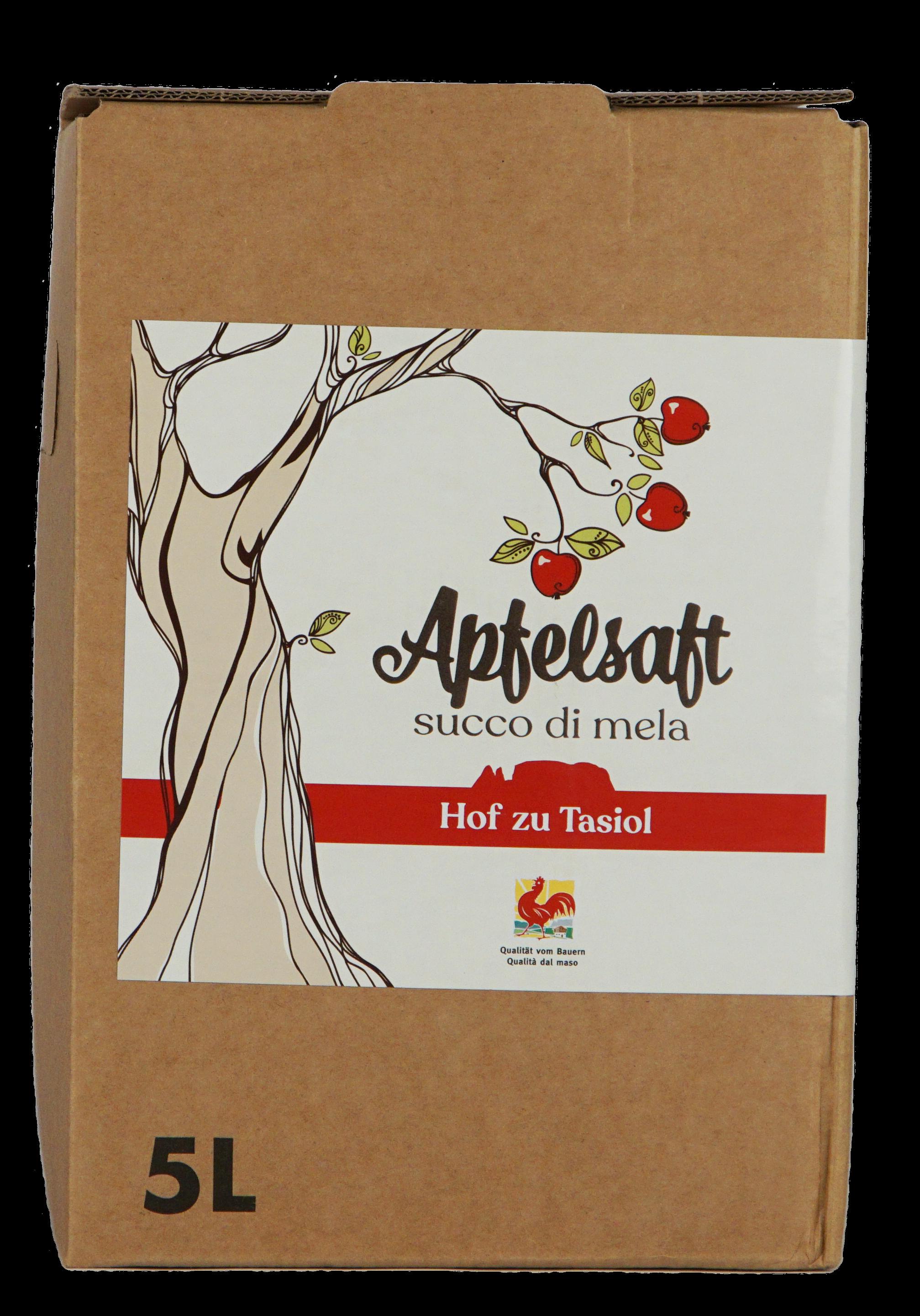 Apfelsaft vom Tasiolerhof 5 l