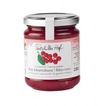 Fruchtaufstrich Rote Johannisbeere Partschillerhof BIO 230 g