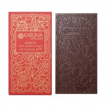 Mexico 62% Dark Cashew Nougat With Hazelnut Inclusions Karuna BIO 60g