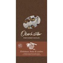 Feinbitterschokolade mit Zirbelnuss Oberhöller 100 g