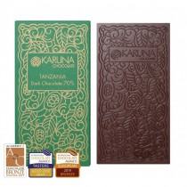 Single Origin Dark Chocolate 70% Tanzania Karuna BIO 60g