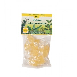 Kräuterzuckerlen Kräuterschlössl BIO 75 g
