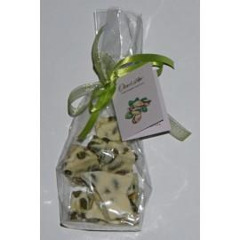 Bruchschokolade mit Pistazien Oberhöller 100 g