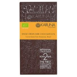 Single Origin Dark Chocolate 81% Brazil Karuna BIO 60g