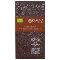 Cioccolato Fondente con Caffè 68% Belize Karuna BIO 60g