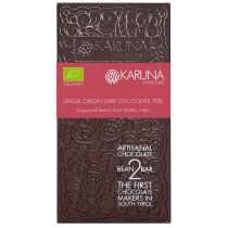 Single Origin Dark Chocolate 70% India Karuna BIO 60g