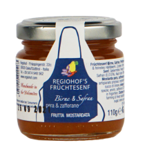 Frutta mostardata pera e zafferano | Regiohof 110g