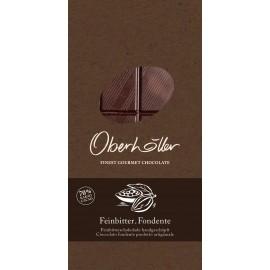 Tavoletta di cioccolato fondente 100 g Oberhöller