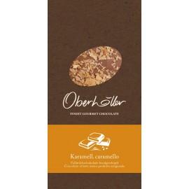 Tavoletta di cioccolato al latte con caramello 100 g Oberhöller