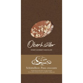 Tavoletta di cioccolato al latte con schüttelbrot 100 g Oberhöller