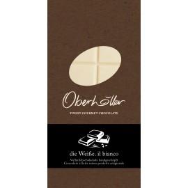 Tavoletta di cioccolato bianco al latte 100 g Oberhöller