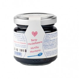 Marmellata di mirtillo nero | Regiohof 110 g