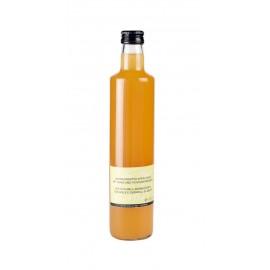Aceto di mele aromatizzato con miele e germogli di abete | Luggin BIO 500 ml