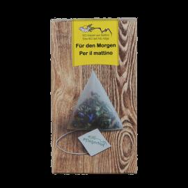 Tè alle erbe in bustina - Per il mattino | Pflegerhof BIO 20 g