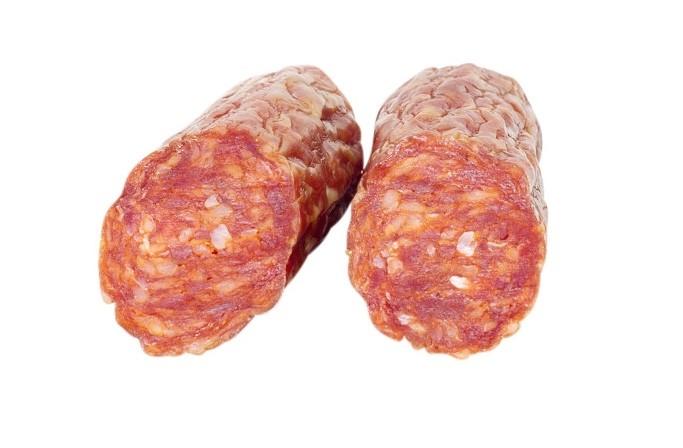 Napoli hot salami 215 g Metzgerei Stefan butcher shop