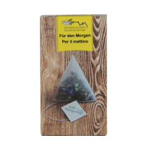 Pflegerhof ORGANIC Für den Morgen herbal tea in pyramid bags 20 g