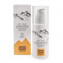 Sunscreen SPF 30 with whey Unteregger 150 ml