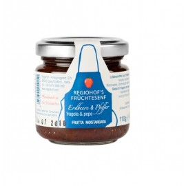Regiohof Strawberry & Pepper mustard 110 g