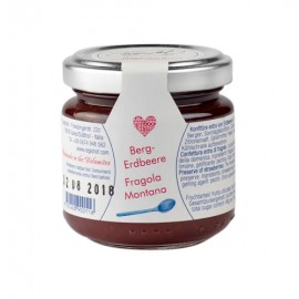 Mountain Strawberry Jam Regiohof 110 g