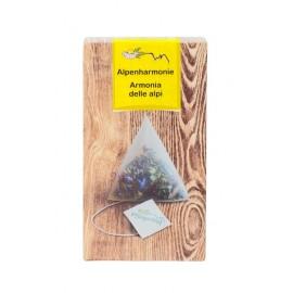 Pflegerhof ORGANIC Alpenharmonie herbal tea in pyramid bags 20 g