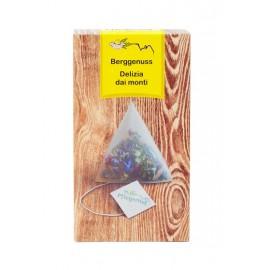 Pflegerhof ORGANIC Berggenuss herbal tea in pyramid bags 20 g