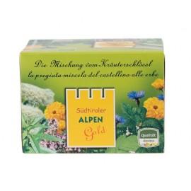 Kräuterschlössl ORGANIC Alpengold herbal tea 16.5 g