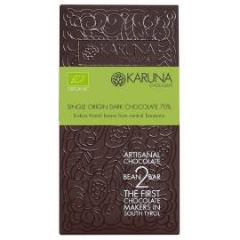 Single Origin Dark Chocolate 70% Tanzania Karuna ORGANIC 60g