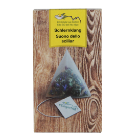 Pflegerhof ORGANIC Schlernklang herbal infusion in pyramid bags 20 g
