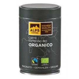 Caffè Espresso BIO Organico 250g ground Alps Coffee