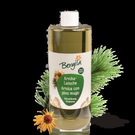 Arnica-Mountain Pine Ointment Bergila ORGANIC 500 ml
