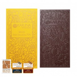 Single Origin Dark Chocolate 70% Belize Karuna ORGANIC 60g